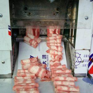 máy thái thịt lát mỏng 2 cuộn RW 02